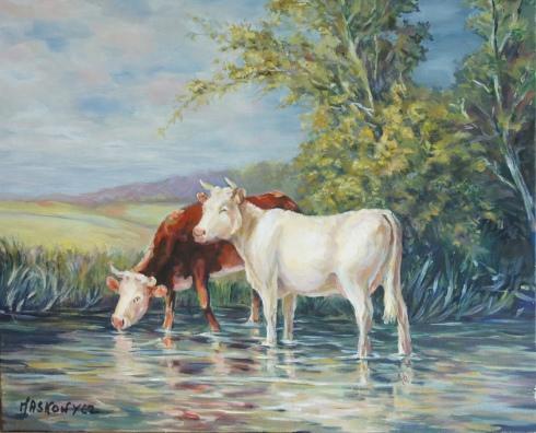 Les deux vaches